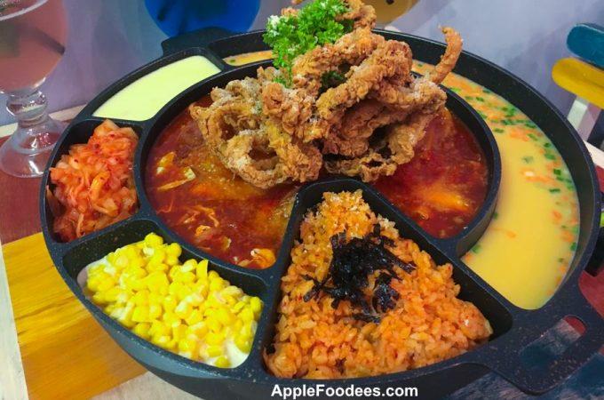 Chicken Up Subang Jaya - Snow Squid Topokki - Before