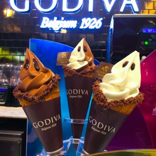 Godiva Chocolatier @ Nu Sentral Kuala Lumpur -Soft Serve Ice Cream Chocolate