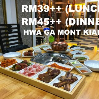 Hwa Ga Mont Kiara Korean BBQ Buffet Restaurant
