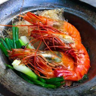 Thai Seafood Vermicelli - Prawns