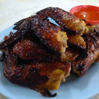 Wong Ah Wah Chicken Wings @ Jalan Alor, KL