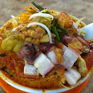 Big Bowl Curry Mee at Coca Seafood Restaurant, Kepong