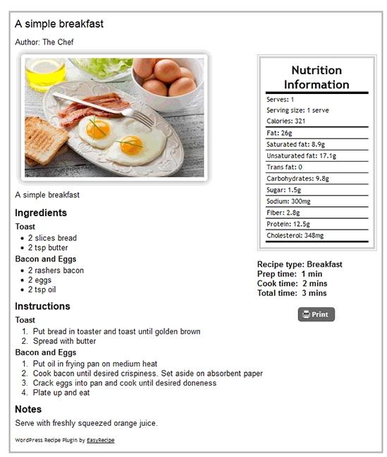 easy-recipe-plugin