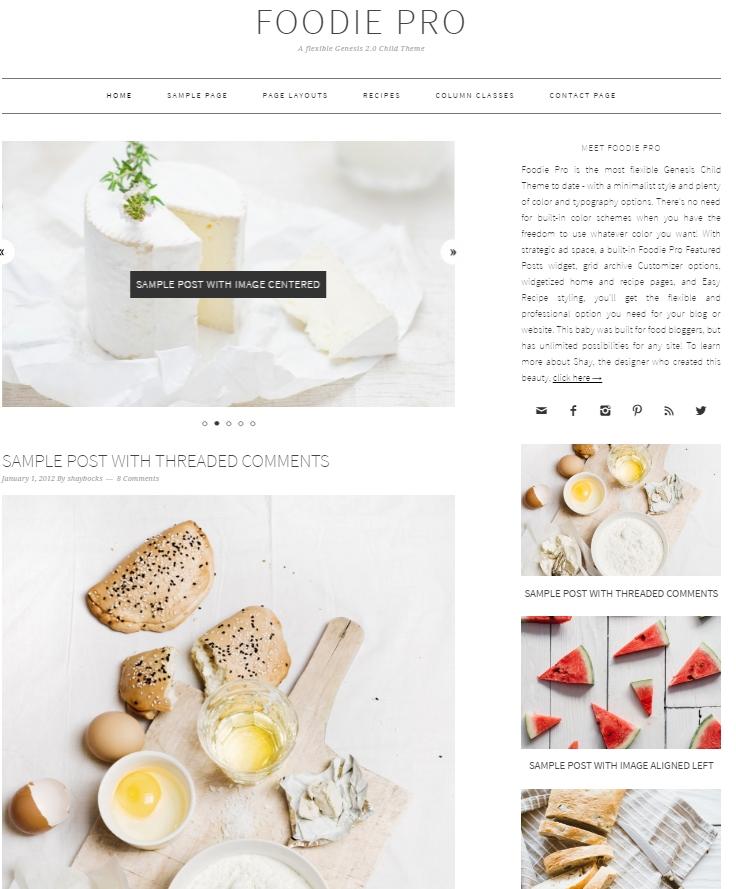 foodie-pro-theme-genesis-framework