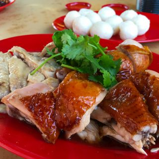 Ee Ji Ban Chicken Rice Balls in Malacca